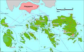 map batam pulau batam indonesia map