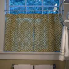 Sewing Cafe Curtains Cafe Curtains For Bathroom My Web Value