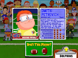 Football Field In Backyard Tool Tuesday The Backyard Sports Hall Of Fame Goudblogs