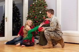 soldiers adopt a family team