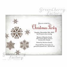 christmas party invite template contegri com
