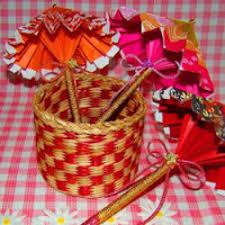 How To Make Paper Umbrellas - tutorial how to make paper umbrellas free crafts handmade