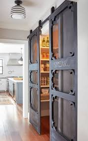 barn door for kitchen cabinets awesome sliding barn door ideas to include in your home