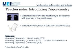 introducing trigonometry ppt download