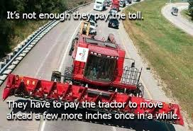 Tractor Meme - tractor in the highway net neutrality know your meme