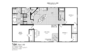 3 bedroom 2 bath floor plans red tag clearance oak creek homes