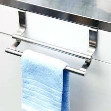 over cabinet door towel bar kitchen cabinet door towel rack double over cabinet door kitchen