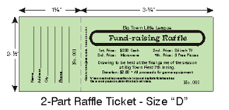 raffle tickets raffle calendars fund raising items by jforms com