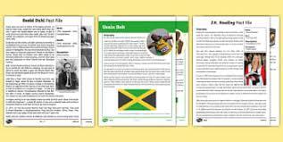 ks2 literacy biography and autobiography ks2 biographies and autobiographies primary resources