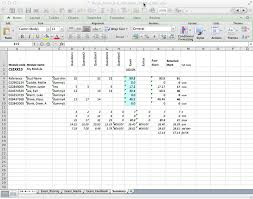 Blank Spreadsheets Mfa Exam Templates