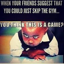 Gym Motivation Meme - 171116 a game crossfit lah