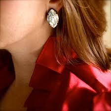 large stud earrings stud earrings white diamond large marquise