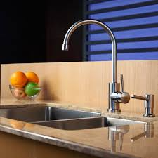 kraus kitchen faucets kraus kpf2160 single lever stainless steel cast spout kitchen