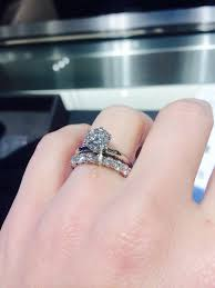 solitaire engagement ring with wedding band best 25 solitaire engagement rings ideas on