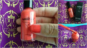 nail polish little fat notebook