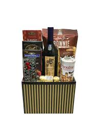 gourmet wine gift baskets the wine chocolate gift box is available for same day delivery