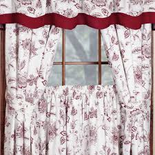 Short Length Blackout Curtains Winston Jacobean Floral Short Length Window Treatment