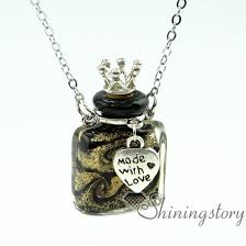 pet memorial necklace wholesale keepsake jewelry pet urn necklaces locket for ashes