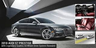 audi quattro all wheel drive 2018 audi s7 prestige with legendary quattro drive system