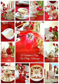 Valentine S Day Tablecloth by Valentine U0027s Day Tea Party Tablescape Toot Sweet 4 Two