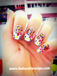 hello kitty nail art by beauty recipe award winning beauty