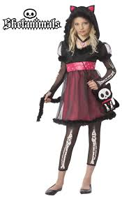 childrens cat costumes halloween costumemaze kit the cat skelanimals child costume 385 38 88