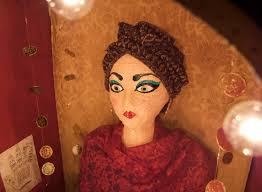 halloween crystal ball with head fortune teller booth halloween craft matsutake