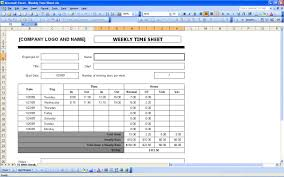 Daily Timesheet Template Excel Sheets Excel Templates