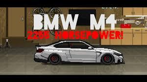 Bmw M4 Pixel Car Racer Youtube