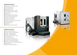 prompt products horizontal machining center hmc series