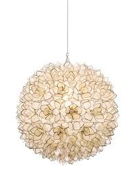 Capiz Light Pendant Neiman Capiz Shell 1 Light Pendant Neiman