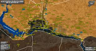 Homs Syria Map by Situation In Raqqah Countryside On April 27 2017 Syria Map Update