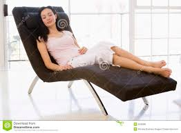 Sleeping In A Chair Woman Sitting In Chair Sleeping Royalty Free Stock Images Image