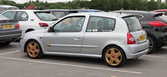 old renault clio modified renault clio rs at cars u0026 coffee cheshire cars
