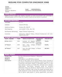 Sample Resume For Java J2ee Developer by Sample Resume J2ee