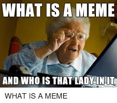 What Is An Meme - what is a meme and who is that lady inut meme on me me