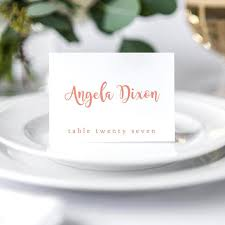 folded table place cards printable folded place cards table name cards template