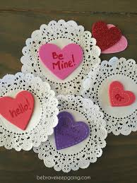 be brave keep going easiest valentine u0027s day craft ever