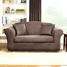 loveseat slipcover slipcovers two cushions target 3 piece