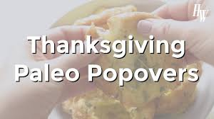 paleo thanksgiving popovers