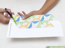 how to make a flexagon 13 steps with pictures wikihow