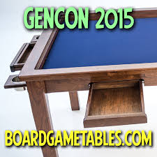 GenCon  Board Game Tablescom The Spiel BoardGameGeek - Board game table design