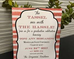 graduation invite etsy