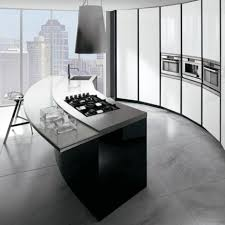 decoration inimitable curved kitchen island with seating and