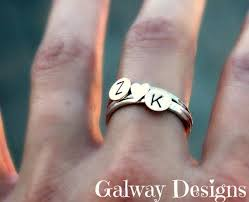 custom initial rings best 25 initial rings ideas on jewls and jems