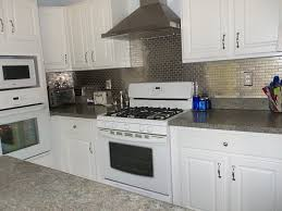 Kitchens With Stainless Steel Backsplash Stainless Steel Backsplash With Shelf Stainless Chimney Built In