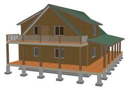 loft guest house plans