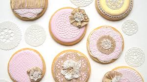 wedding cookies how to use sugarveil icing to decorate wedding cookies