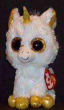 ty beanie boos 37059 pegasus unicorn large boo ebay
