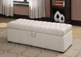 bed bench storage furniture perfect upholstered white tufted bench storage for your